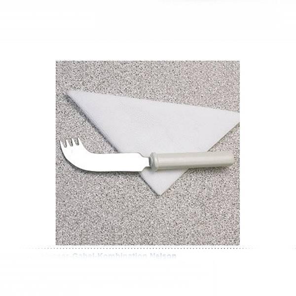 Messer-Gabel-Kombination für einhändiges Essen