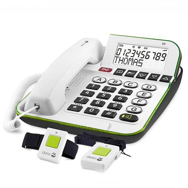 Großtastentelefon Secure 350 für Senioren