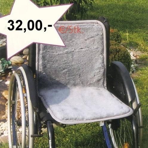 Rollstuhl-Auflage für Rücken- und Sitzfläche