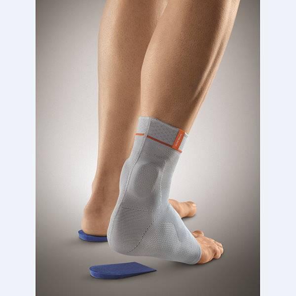 Achillessehnenbandage mit Fersenkeil