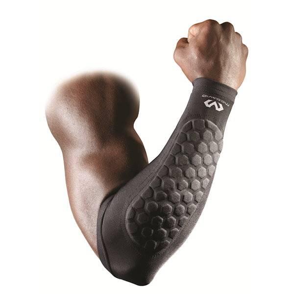 Unterarmschutz für den Sport mit Hex-Technologie