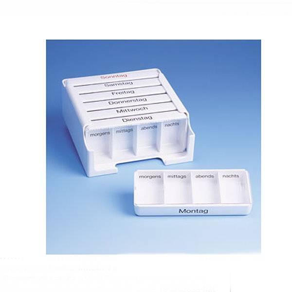 Medikamentenkassette Medi 7 für jeden Wochentag