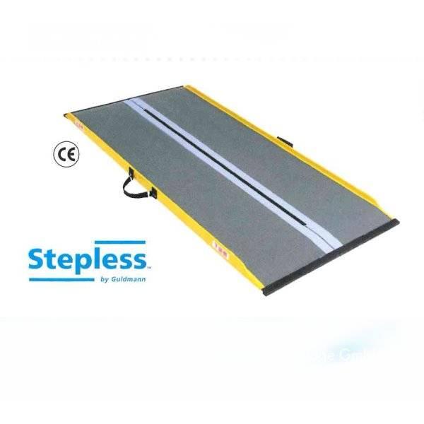 Extrem leichte Stepless Lite-Rollstuhlrampe aus hochwertigen Materialien