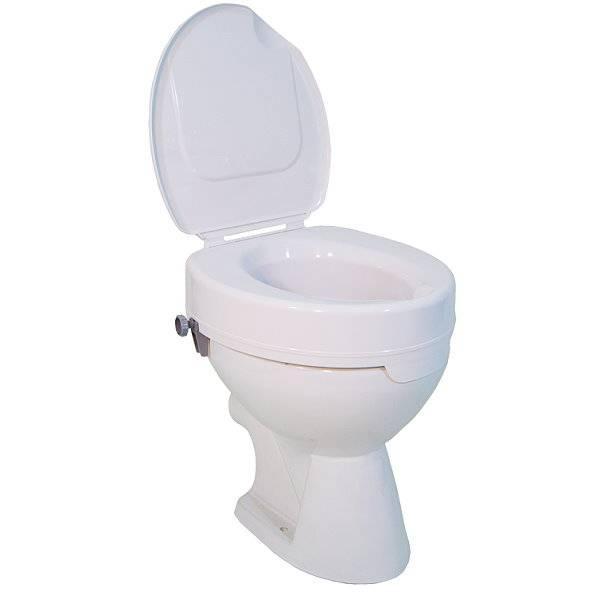 Toilettensitzerhöhung Ticco 2G - bis 225 kg belastbar!