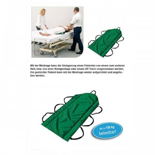 Minitrage zur Umlagerung eines Patienten