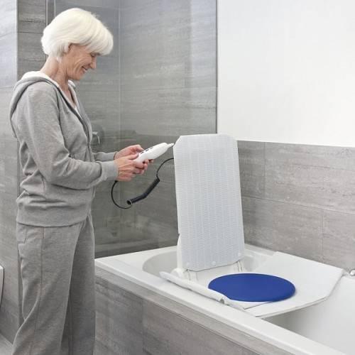 Drehscheibe Disk als Umsetzhilfe für Badewannenlift