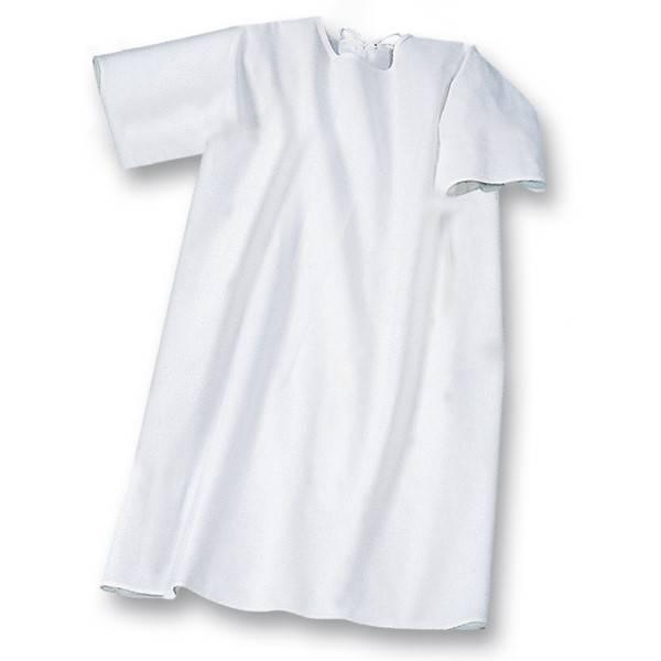 Pflegehemd Kurzarm zum Binden