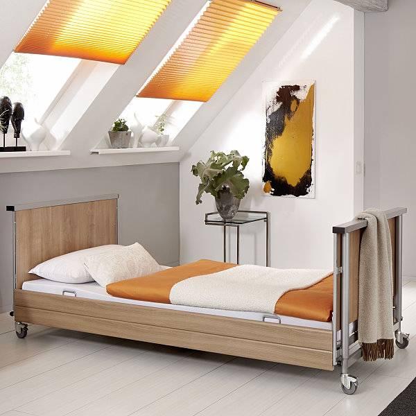 Pflegebett Dali Low Entry mit niedriger Einstiegshöhe