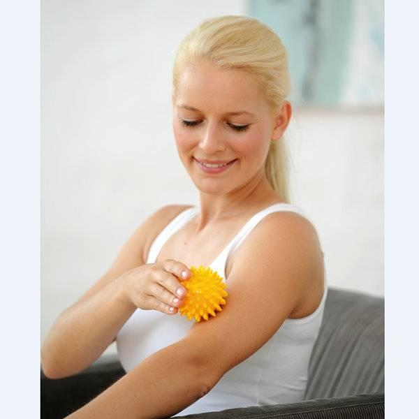 Igelball Spiky für wohltuende Massagen, 2er Set