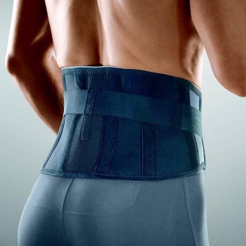 Rückenbandage LUMBO-HIT mit Hebezügen