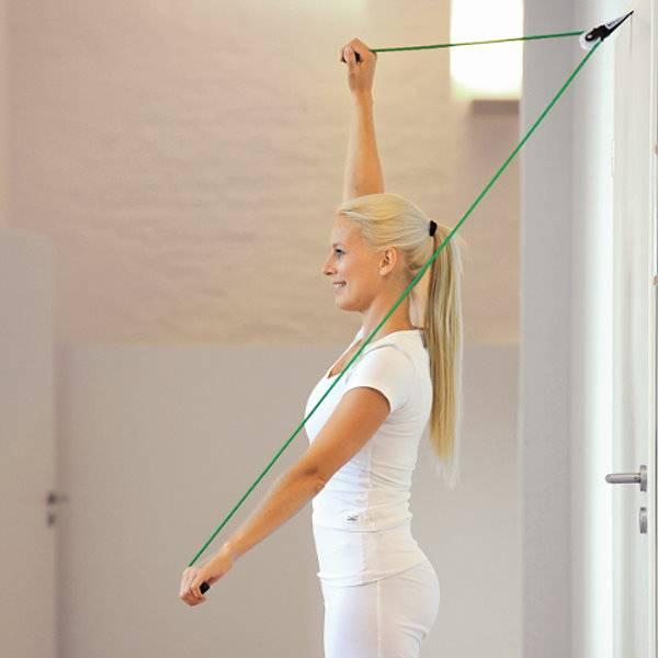 Tür-Befestigung für Sportgeräte wie Therapiebänder oder Fit Tubes