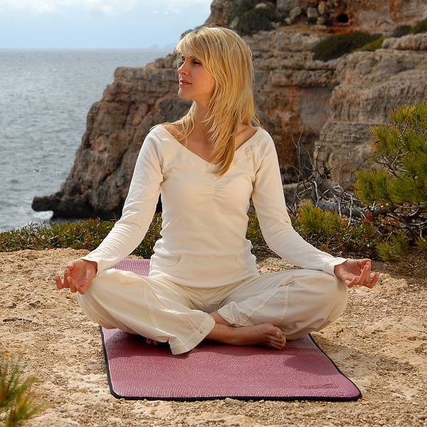 Hochwertige Pilates- und Yogamatte