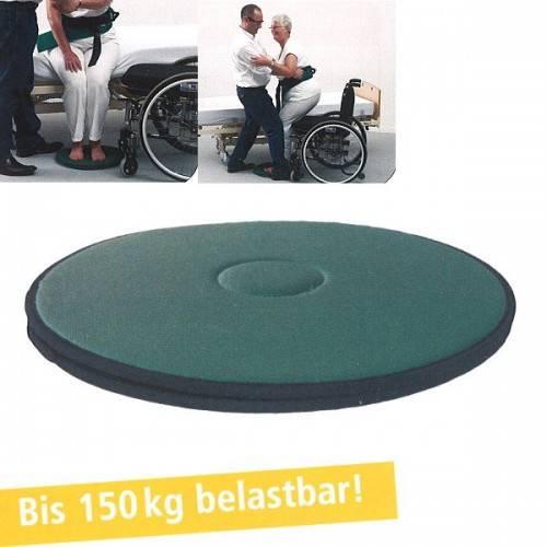 Flexible Drehscheibe für Rollstuhlfahrer