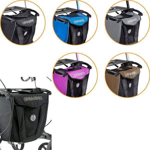 Transporttasche für Gemino-Rollatoren mit Schultergurt