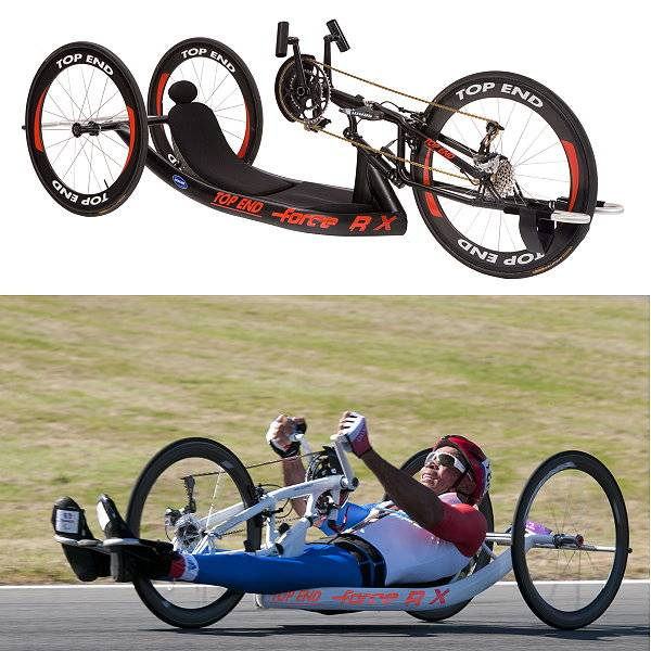 Handbike Invacare Top End Force RX