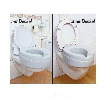 Toilettensitz Soft mit 11 cm Sitzhöhe angenehm weich