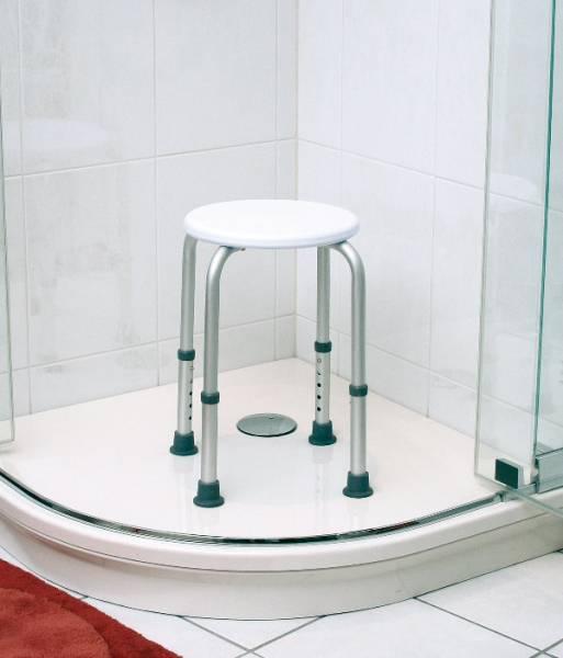Duschhocker Standard bis 150 kg höhenverstellbar