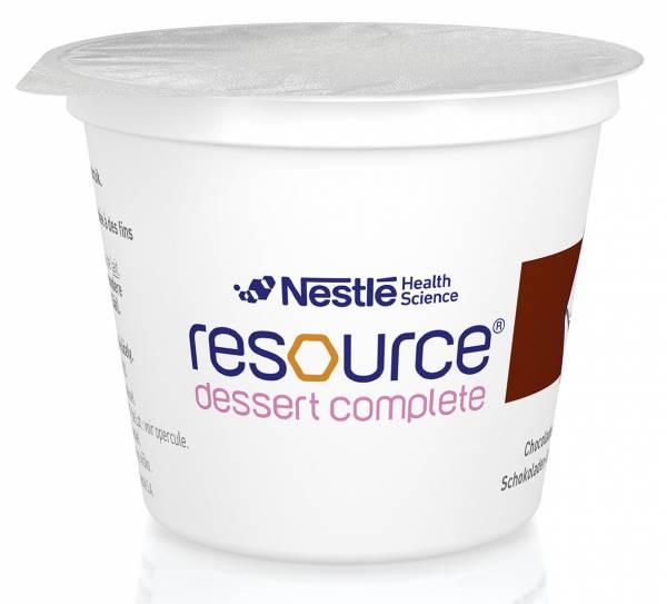 Resource Dessert Complete bei Dysphagie | Nestle Nutrition