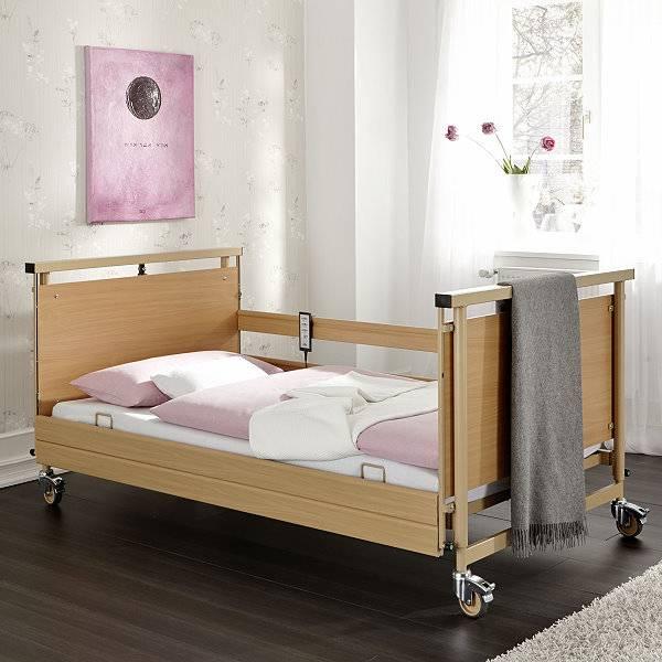 Pflegebett Allura II für schwergewichtige Personen