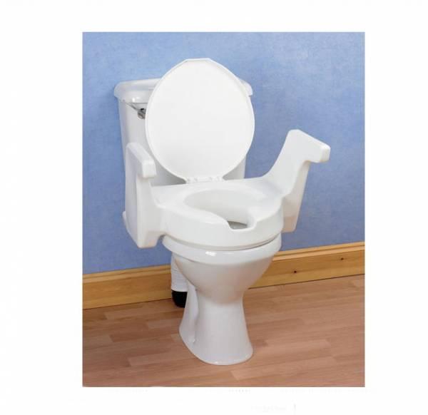 Toilettensitz-Erhöher Enterprise mit Vorteilen bei der Montage