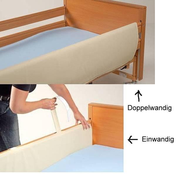 Seitengitterpolster für Pflegebetten