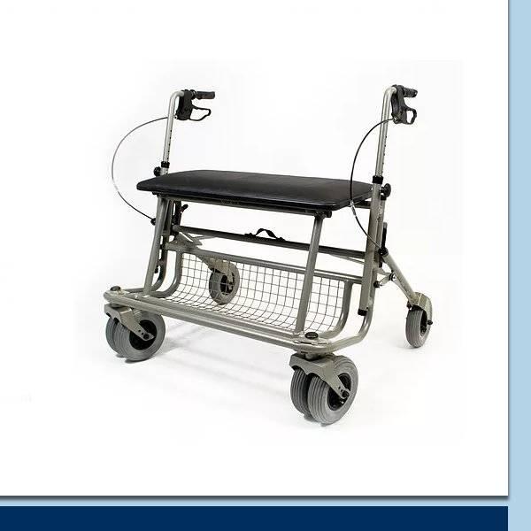 XXL-Rollator für eine Belastung bis 210 kg bzw. 250 kg