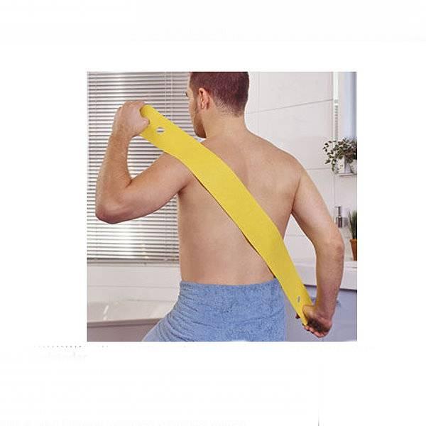 Eincremebänder zum selbstständigen Eincremen des Rückens