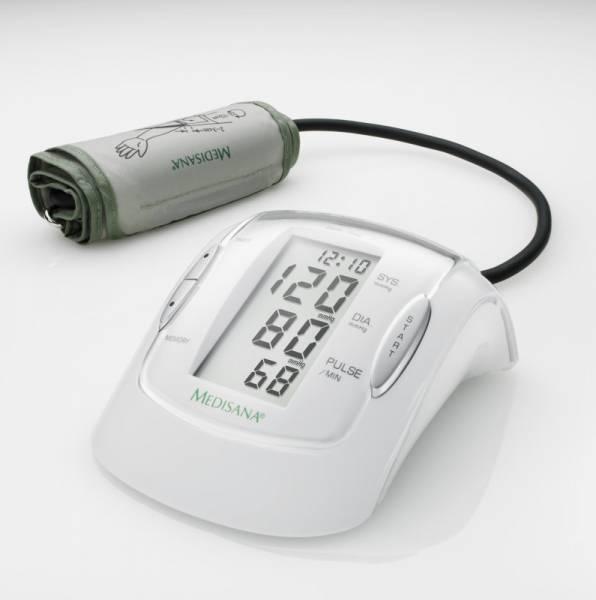 Oberarm-Blutdruckmessgerät MTP Pro mit 1-Tasten-Bedienung