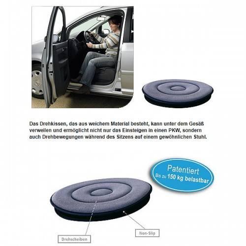 Drehkissen für den Autositz für Rollstuhlfahrer