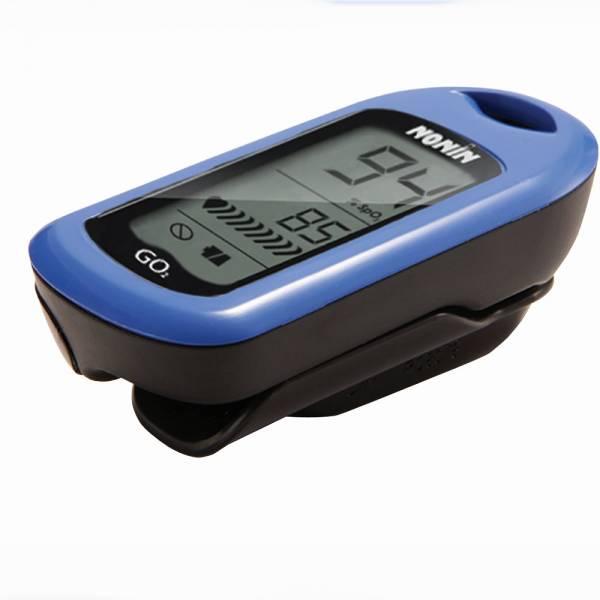 Finger-Pulsoximeter GO2 zur Ermittlung der Sauerstoffsättigung