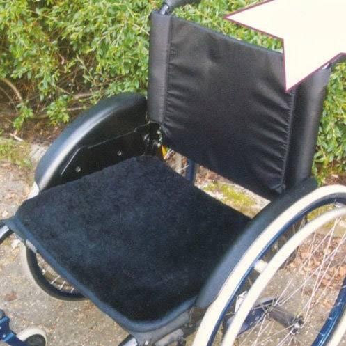 Sitzauflage für den Rollstuhl