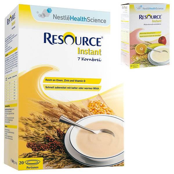 Resource Instant 7 Kornbrei | Nestle Nutrition