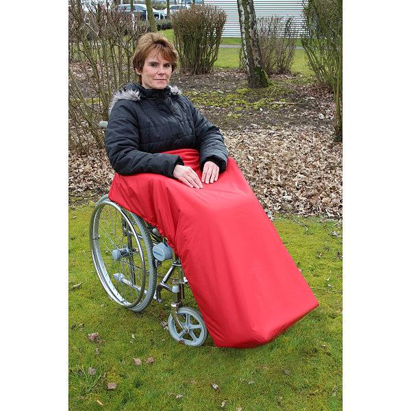 Einfacher gehts kaum: Rollstuhl-Schlupfsack zum Überstülpen