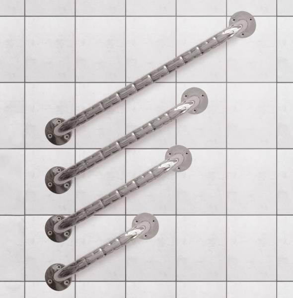 Haltegriffe aus Edelstahl für Bad und WC