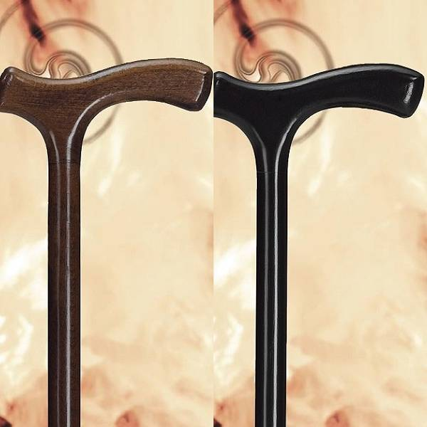 Standard-Gehstock aus Holz mit Fritzgriff