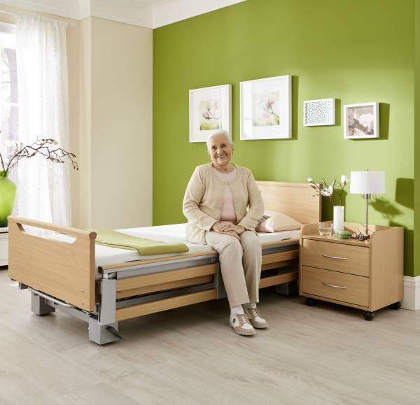 Premium-Pflegebett Regia mit vielen Optionen