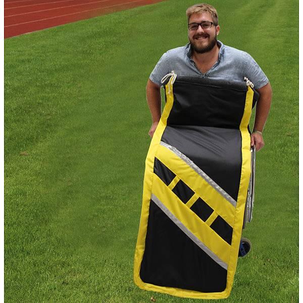 Sportlicher Schlupfsack Sporty im Fußball-Design