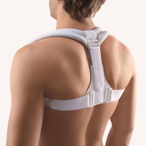 Clavicula-Bandage/Rückenbandage bei Schlüsselbeinfraktur