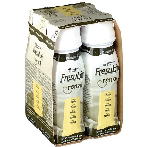 Fresubin Renal bei Niereninsuffizienz | Fresenius 24 x 200 ml