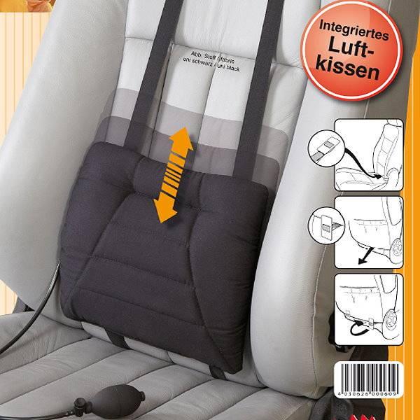 Rückenkissen Sitwell Comfort mit aufpumpbarem Luftkissen