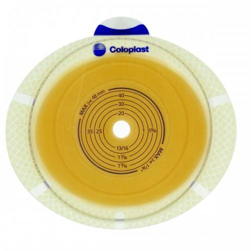 SenSura Click Basisplatte Zweiteilig, plan ohne Gürtelbefestigung