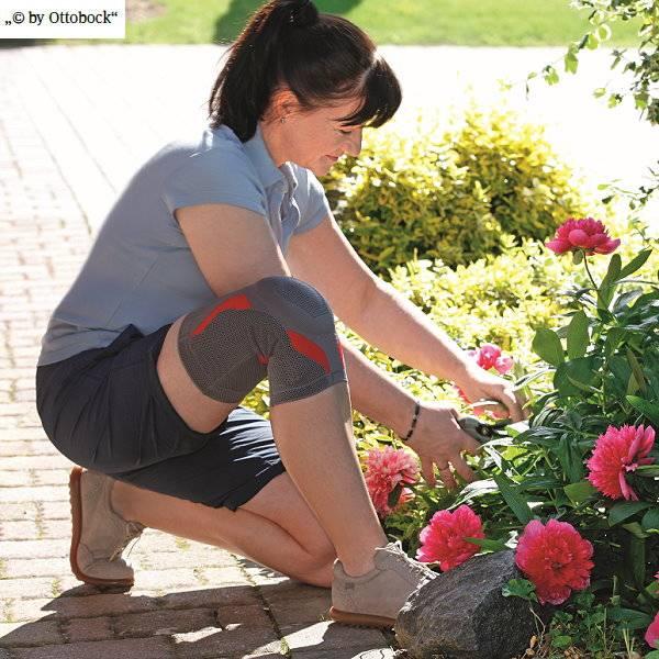 Knie Bandage Genu Sensa für den Alltag